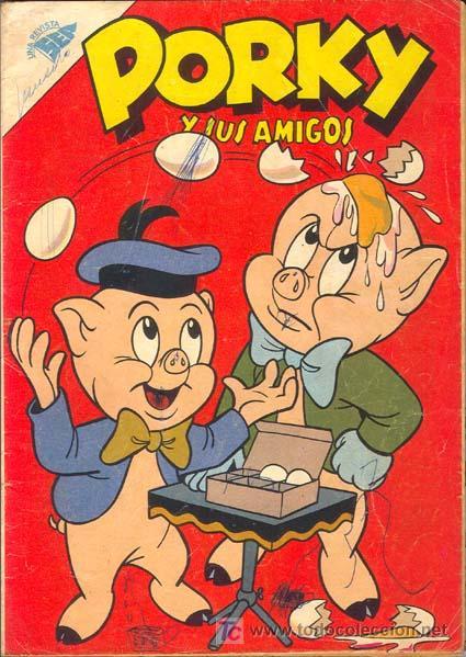 PORKY Y SUS AMIGOS NUMERO 98 01/11/1959 (Tebeos y Comics - Novaro - Porky)