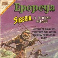 Tebeos: EPOPEYA SIBERIA EL INFIERNO HELADO NUMERO 128 01/01/1969. Lote 26473594