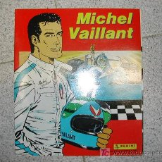 Tebeos: MICHEL VAILLANT. PANINI. ALBUM DE CROMOS COMPLETO SIN ESTRENAR CON LOS 216 CROMOS SUELTOS. MUY RARO. Lote 26937583