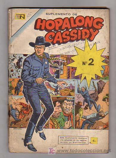 SUPLEMENTO HOPALONG CASSIDY Nº2 DE NOVARO (Tebeos y Comics - Novaro - Hopalong Cassidy)