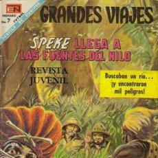 Tebeos: GRANDES VIAJES ( NOVARO ) ORIGINAL 1965-1968 LOTE. Lote 27058739