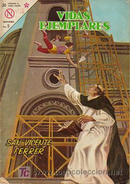 VIDAS EJEMPLARES (NOVARO) ORIGINAL 1963 - 1967 LOTE (Tebeos y Comics - Novaro - Vidas ejemplares)