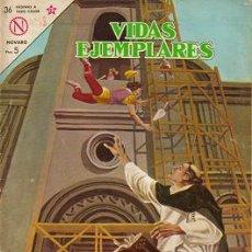 Tebeos: VIDAS EJEMPLARES (NOVARO) ORIGINAL 1963 - 1967 LOTE. Lote 27413486