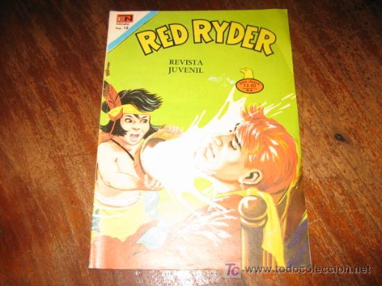 RED RYDER .-AÑO XXII.-Nº 2377 (Tebeos y Comics - Novaro - Red Ryder)