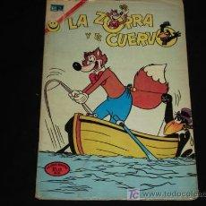 Tebeos: LA ZORRA Y EL CUERVO N° 303 - NOVARO. Lote 5829078