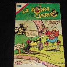 Tebeos: LA ZORRA Y EL CUERVO N° 273 - NOVARO. Lote 5829087