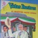 Tebeos: VIDAS ILUSTRES. MAESTRO SIERRA. N0VARO Nº 120. C1563.. Lote 6131603