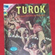 Tebeos: TUROK EL GUERRERO DE PIEDRA - LAS FECHAS PERDIDAS PART I AÑO 1973 , EDITORIAL NOVARO. Lote 11122753