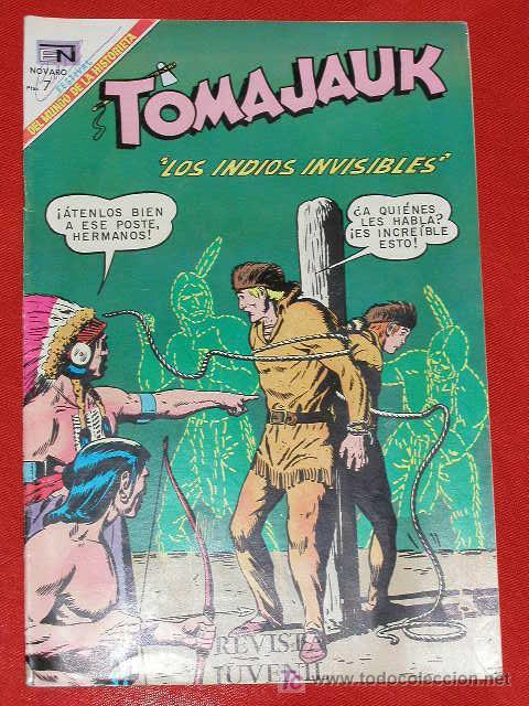 TOMAJAUK LOS INDIOS INVISIBLES - Nº 163 AÑO 1969 , EDITORIAL NOVARO, (Tebeos y Comics - Novaro - Otros)