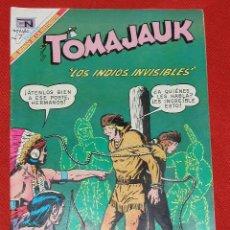 Tebeos: TOMAJAUK LOS INDIOS INVISIBLES - Nº 163 AÑO 1969 , EDITORIAL NOVARO, . Lote 26949155