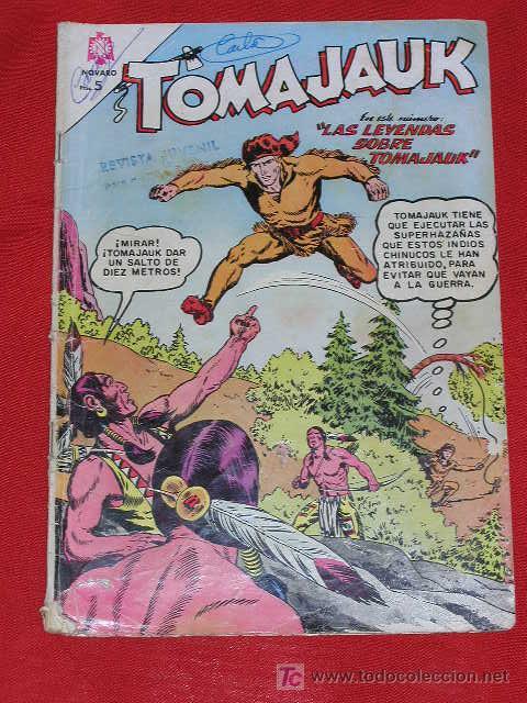 TOMAJAUK LAS LEYENDAS SOBRE TOMAJAUK - Nº 129 AÑO 1966 , EDITORIAL NOVARO (Tebeos y Comics - Novaro - Otros)