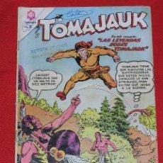 Tebeos: TOMAJAUK LAS LEYENDAS SOBRE TOMAJAUK - Nº 129 AÑO 1966 , EDITORIAL NOVARO. Lote 26763017