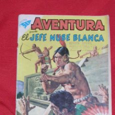 Tebeos: AVENTURA JEFE NUBE BLANCA Nº 104 AÑO 1959, ORIGINAL Y DIFICIL EDITORIAL NOVARO ORIGINAL Y DIFICIL. Lote 26483040