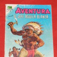 Tebeos: AVENTURA JEFE NUBE BLANCA Nº 541 AÑO 1968, EN PELIGRO EN EL NORTE ORIGINAL EDITORIAL NOVARO. Lote 27227058