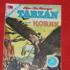 Tebeos: TARZAN- KORAK - EL VALLE DE LOS HOMBRES MURCIELAGO - Nº 268 AÑO 1971, ORIGINAL EDITORIAL NOVARO. Lote 21196405