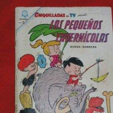 Tebeos: CHIQUILLADAS DE TV - LOS PEQUEÑOS CAVERNICOLAS - Nº 169 AÑO 1965, ORIGINAL EDITORIAL NOVARO. Lote 26949153