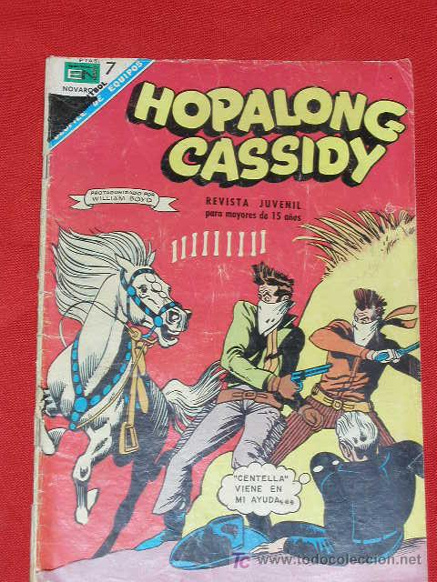 HOPALONG CASSIDY - EL ARMERO DE CUIDAD SOLEADA - Nº 157 AÑO 1968, ORIGINAL EDITORIAL NOVARO (Tebeos y Comics - Novaro - Hopalong Cassidy)