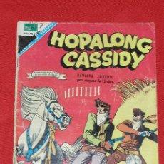Tebeos: HOPALONG CASSIDY - EL ARMERO DE CUIDAD SOLEADA - Nº 157 AÑO 1968, ORIGINAL EDITORIAL NOVARO. Lote 26457791