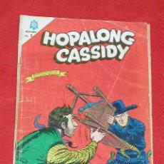 Tebeos: HOPALONG CASSIDY - LA DILIGENCIA MISTERIOSADE SURCOS - Nº 129 AÑO 1965, ORIGINAL EDITORIAL NOVARO. Lote 26876815