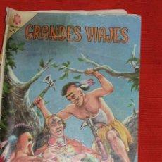 Tebeos: GRANDES VIAJES BOUGAINVILLE - Nº 27 AÑO 1965, ORIGINAL EDITORIAL NOVARO. Lote 26531638