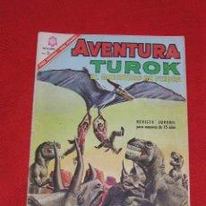 Tebeos: TUROK EL GUERRERO DE PIEDRA - VIAJE TEMERARIO Nº 461 AÑO 1966 , EDITORIAL NOVARO,. Lote 27462966