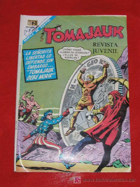 TOMAJAUK - TOMAJAUK DEBE MORIR - Nº 153 AÑO 1968 , EDITORIAL NOVARO (Tebeos y Comics - Novaro - Otros)