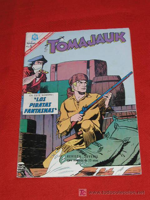 TOMAJAUK LOS PIRATAS FANTASMAS - Nº 133 AÑO 1966 , EDITORIAL NOVARO (Tebeos y Comics - Novaro - Otros)