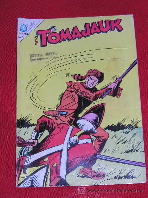 TOMAJAUK BATALLA EN EL PUENTE - Nº 127 AÑO 1966 , EDITORIAL NOVARO (Tebeos y Comics - Novaro - Otros)