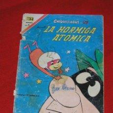 Tebeos: CHIQUILLADAS TV - LA HORMIGA ATOMICA - HANNA BARBERA Nº 216 AÑO 1967 , EDITORIAL NOVARO,. Lote 27085173