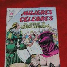 Tebeos: MUJERES CÉLEBRES - EL DRAMA DE MARIA ESTUARDO Nº 32 AÑO 1963, ORIGINAL EDITORIAL NOVARO. Lote 13762134