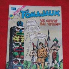 Tebeos: TOMAJAUK EL JUICIO DEL TOTEM - Nº 217 AÑO 1973 , EDITORIAL NOVARO. Lote 27456048