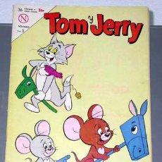 Tebeos: TOM Y JERRY, AÑO XIII, Nº 203. EL PEZ VOLADOR. EDITORIAL NOVARO. MEXICO, 1963.. Lote 24051379