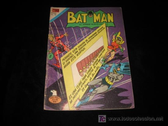 BAT MAN Nº 2-829.-1976 (Tebeos y Comics - Novaro - Otros)