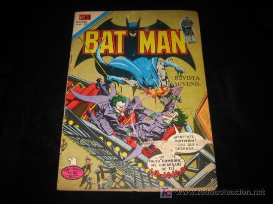 BAT MAN Nº 2-933.-1978 (Tebeos y Comics - Novaro - Otros)