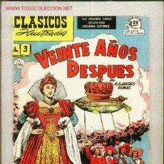 Tebeos: CLASICOS ILUSTRADOS Nº 3 DE LA PRENSA MEXICANA - AÑOS 50. Lote 21461214