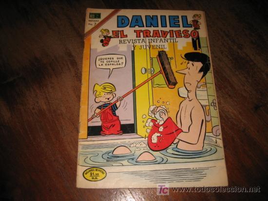 DANIEL EL TRAVIESO Nº 136 1973 (Tebeos y Comics - Novaro - Otros)