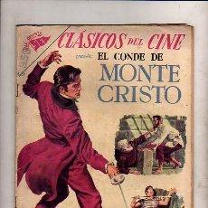 Tebeos: CLASICOS DEL CINE Nº20 PRESENTA EL CONDE DE MONTE CRISTO. Lote 23609504