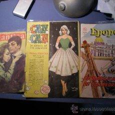 Tebeos: 3 REVISTAS JUVENILES - EPOPEYA , ROMANTICA Y CAN CAN , ANTIGUAS.. Lote 21720691