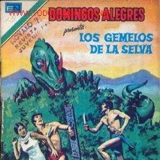 Tebeos: DOMINGOS ALEGRES. LOS GEMELOS DE LA SELVA NUMERO 2-1314 23/11/1979 . Lote 26473590