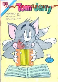 TOM Y JERRY NUMERO 432 15/12/1975 (Tebeos y Comics - Novaro - Tom y Jerry)
