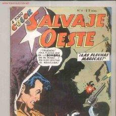 Tebeos: SALVAJE OESTE DE GIL KANE - AÑO 1959- DE LA LINEA SUPERHOMBRE DE MUCHNIK- TIPO NOVARO. Lote 3934075