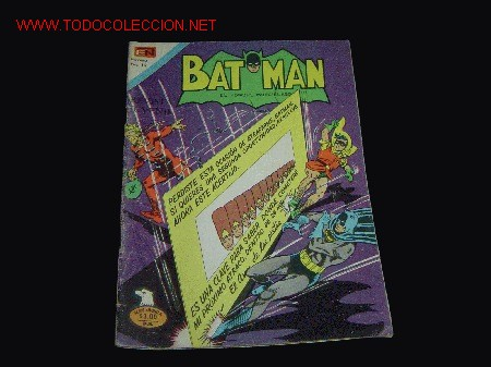 BATMAN NOVARO SERIE AGUILA N2-829 1976 (Tebeos y Comics - Novaro - Batman)