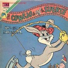 Tebeos: EL CONEJO DE LA SUERTE 409 - NOVARO - 1973 . Lote 22661206