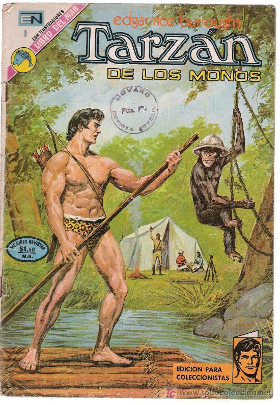 TARZÁN DE LOS MONOS.Nº 351. AÑO 1973 (Tebeos y Comics - Novaro - Tarzán)