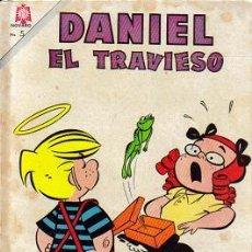 Tebeos: DANIEL EL TRAVIESO (NOVARO) ORIGINALES 1965-1966 LOTE. Lote 27413491