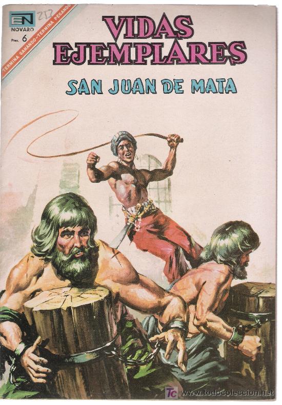 VIDAS EJEMPLARES. Nº 253. AÑO 1967. (Tebeos y Comics - Novaro - Vidas ejemplares)