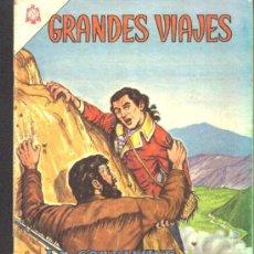 Tebeos: GRANDES VIAJES # 21 - LA CONDAMINE EN LA AMERICA DEL SUR - EDITORIAL NOVARO - AÑO 1964. Lote 26032942