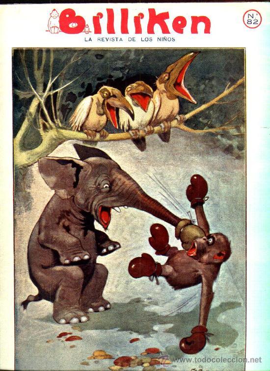 Tebeos: BILLIKEN - AÑO 1921 - LA REVISTA DE LOS NIÑOS - Foto 6 - 25821542