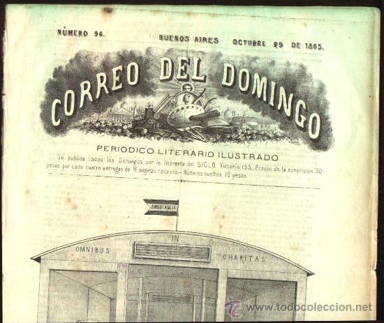 Tebeos: PERIODICO LITERARIO AÑO 1865 !!!!! - Foto 7 - 25821542