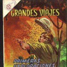 Tebeos: GRANDES VIAJES # 16 - PRIMERAS EXPLORACIONES DE STANLEY - EDITORIAL NOVARO - AÑO 1964. Lote 27298251